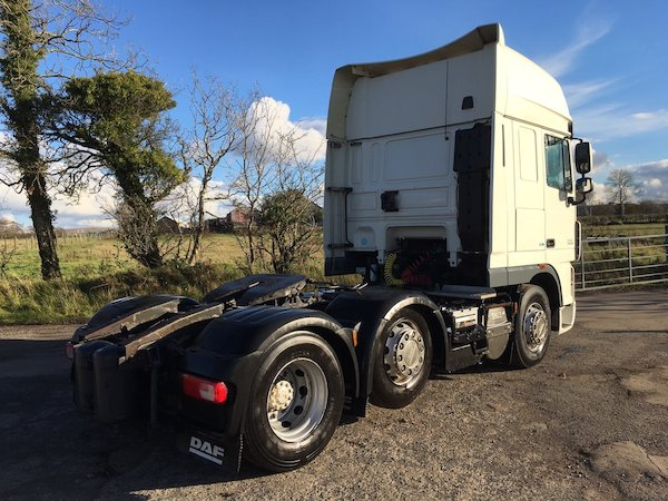 62 plate DAF XF105 460 6×2 tractor unit - Grant Commercials